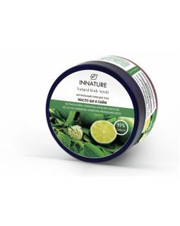 """Натуральный скраб для тела """"Масло ши и лайм"""" от Innature (Иннатуре)"""